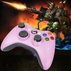 USB Wired Game Controller Gamepad Joystick for Microsoft Xbox 360 &PC Pink US