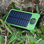 73CD Portable Strong LED Lamp Light Solar Power Charger For IPad Phones 2017