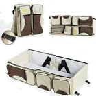 Stylish 3 in 1 Diaper Tote Bag Travel Bassinet Nappy Changing Station Carryc US
