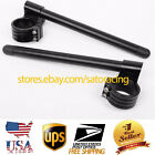 US CLIP ONS HANDLE BARS FOR TRIUMPH SPEED TRIPLE UP TO 2004 HONDA RC30 1990 $29.76 USD on eBay