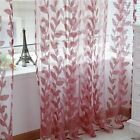 Door Window Scarf Sheer Printed Curtain Drape Panel Tulle Voile Living Room