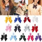 Внешний вид - POP Women Bow Ties Butterfly Knot Lady Girls Students Hotel Waitress Necktie