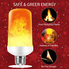 Kyпить LED Flame Light Bulb Simulated Burn Fire Effect Party Decor Flicker Lamp E27 Lot на еВаy.соm