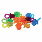 Refill Pack of Large Binkies - Dummy Shaped Pacifier Beads Parrot Toy Making