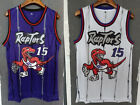 Vince Carter 15 Toronto Raptors Swingman Basketball Jersey Mens Purple WHITE