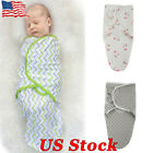 US Newborn Infant Baby Product Baby Print Wrap Swaddler Blanke & Sleeping Bag