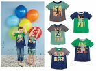 Mud Pie E9 Birthday Boy Toddler Short Sleeve Tee T-Shirt - Choose Age
