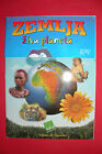 EARTH LIVING PLANET AMPTY ALBUM  + ALL 240 LOOSE STICKER SET ITALIAN MEGA RARE