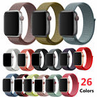 Sport Loop Nylon Woven Band for Apple Watch Series 4 3 2 1 40mm 44mm 38mm 42mm image