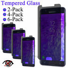 Anti-Spy Privacy Tempered Glass Screen Protector For Samsung Galaxy J7 Phone