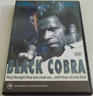 BLACK COBRA DVD REGION FREE FRED WILLIAMSON