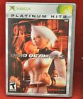 Previously Played Xbox 360 Dead or Alive 3 Game Case Instructions Tecmo