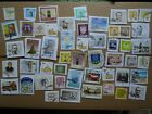 used stamps of Lithuania Lituanie Litauen Lituania - on paper  KILOWARE stamps