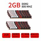 20GB 16GB 8GB 4GB 2GB PC2-6400U DDR2 800mhz Desktop DIMM Memory For Kingbox LOT