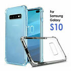 For Samsung Galaxy S10 S10 Plus A5 A8 J5 J7 Shockproof Soft TPU Clear Case Cover