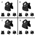 Military Swat Guns Weapon Pack Building Blocks City Team Police Soldiers Figure