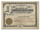 Composite Boot and Shoe Company Stock Certificate (Mystic, CT)