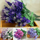 Внешний вид - 10Pcs Bouquet Artificial Silk Lavender Fake Garden Plant Flower Home Decor DIY