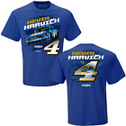 Kevin Harvick 2019 Checkered Flag Sports #4 Busch Beer Contender Tee FREE