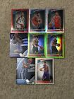 2018-19 Rc Optic 8 Card Lot /99 /149 Red Lime Holo Bagley Sexton Ayton Simons