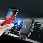 Fast Qi Wireless Car Charger Stand Automatic Clamping Mount Holder for iPhone XS