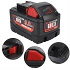 Li-ion Battery Pack Power For Milwaukee M12 12V 6.0Ah 4.0Ah 2.5Ah/M18 18V 9.0Ah