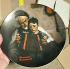 NORMAN ROCKWELL Plates The Music Maker 1981 Crafted By Knowles