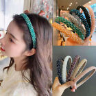 Women's Rhinestone Hairband Crystal Headband Hair Band Hoop Accessories Party