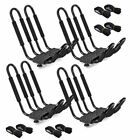 Kyпить 1/2/4 Canoe Boat Kayak Roof Rack Car SUV Truck Top Mount Carrier J Cross Bar на еВаy.соm
