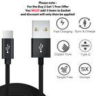 Fast Samsung Galaxy S10 S10+ Plus Type C USB-C Sync Charger Charging Lead Cable
