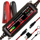 Automatic Smart Battery Charger For Both Lead Acid Batteries Motorcycle Boat 12V