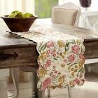NEW!!! Pretty Summer Cottage Farmhouse MADELINE Floral Quilted Table Runners
