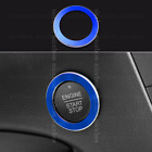 blue Engine Start / Stop Push Button Cover Trim Fit for ford Edge 2015-2018