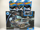 DC Batcave HotWheels Playset Batman Character Car -HotWheels TV Series Batmobil