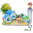 Hot Sale Children's DIY 3D Wooden Construction Puzzle For Kids Toy Xmas Gift