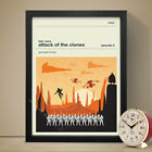 STAR WARS: EPISODE II - ATTACK OF THE CLONES Movie Poster Film Print