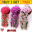 Artificial Fake Flower Ivy Vine Hanging Garland Plant Wedding Home Party Decor ^