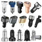 YOPIN Aluminum Alloy 5V Dual 2 USB Car Charger Safety Hammer for Mobile Phone