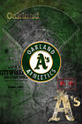 OAKLAND A's Poster, Oakland Athletics MLB Baseball Print Free Shipping Us on Ebay