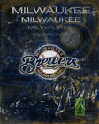 MILWAUKEE BREWERS Poster, The Brewers MLB Baseball Print Free Shipping Us on Ebay