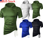 men hoodie t shirt casual summer dress blouse sport sweater shirts tops Stylish