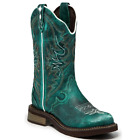 Justin Ladies Gypsy Lily Blue Boots L2910