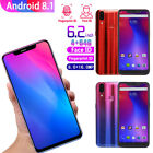 "Full Screen 6.2"" 4G+64G Android 8.1 Recognition Dual SIM 8MP+16MP Camera Phone"