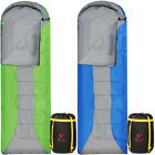 """REDCAMP Sleeping Bags with Armholes Lightweight Outdoor Camping 81""""x27"""" Teen"""