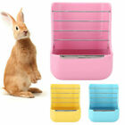 Guinea Pig Rabbit Rack Grass Container 2 in 1 Pet Feeder Food Bowl Container