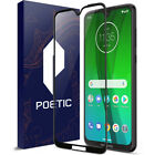 For Moto G7 Plus / G7 | [Full Coverage] Tempered Glass Screen Protector Black