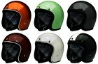 Biltwell Adult Bonanza Retro Open Face 3/4 Motorcycle Helmet DOT ECE 2019