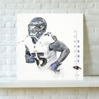 Baltimore Ravens Terrell Suggs HD Print Oil Painting Art on Canvas Unframed $8.0 USD on eBay