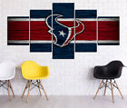 Houston Texans HD Print Oil Painting Home Decor Art on Canvas 5PCS Unframed $25.0 USD on eBay