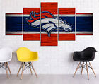 Denver Broncos HD Print Oil Painting Home Decor Art on Canvas 5PCS Unframed $25.0 USD on eBay
